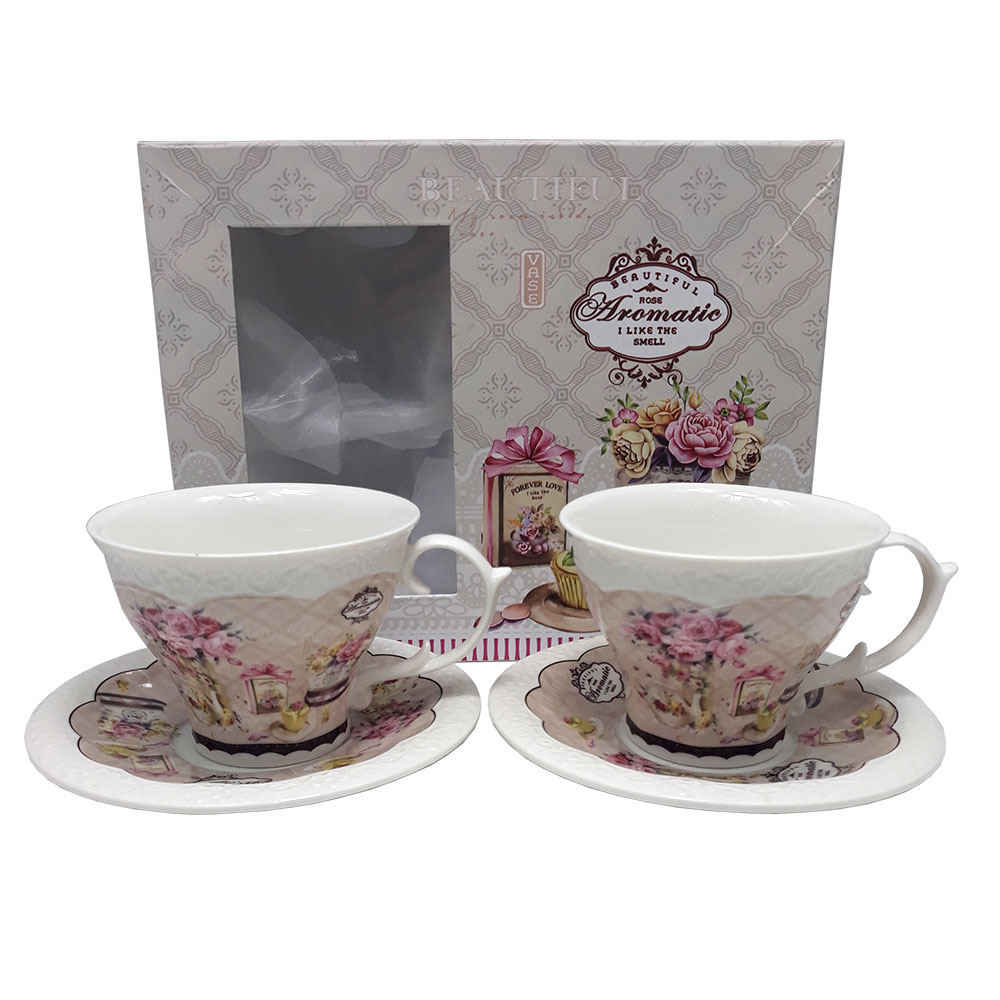 Set ceai 2 persoane Aromatic Rose
