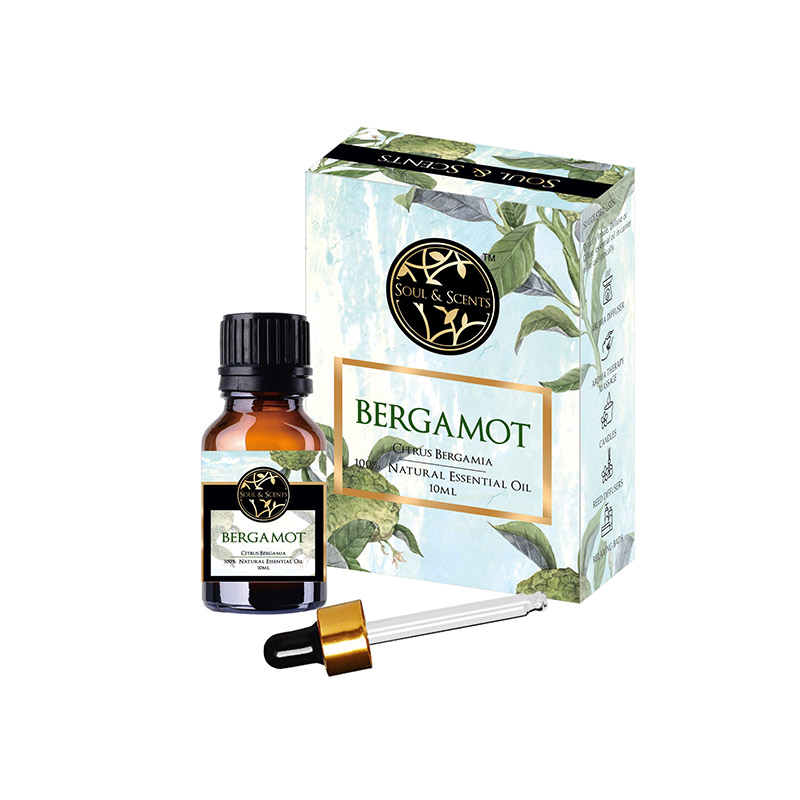 Bergamota Ulei Esential  100% Natural, 10 ml