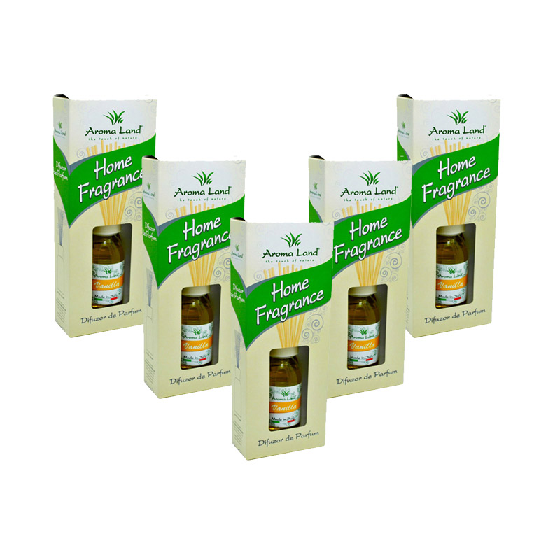 Pachet 5 reed diffuser Vanilie, 125 ml