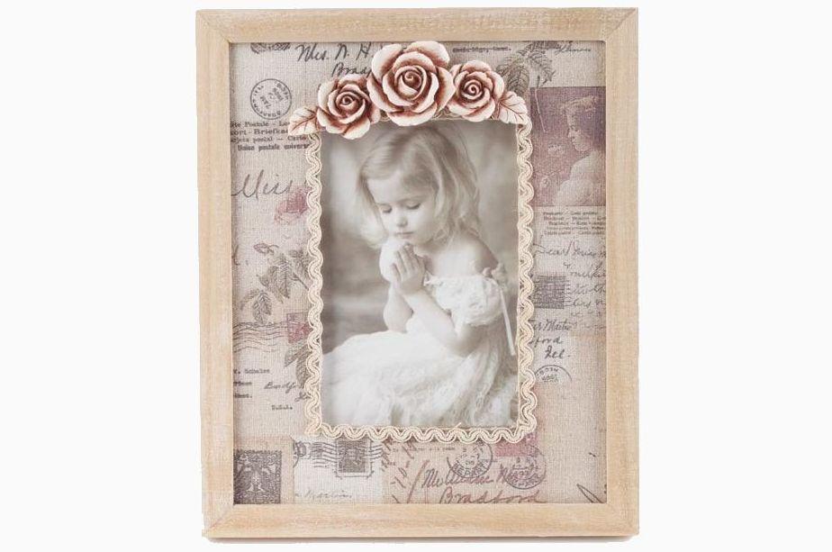 Dimensiuni Rama foto lemn de birou Love Letter 10x15 cm